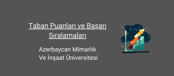 azerbaycan mimarlık ve inşaat üniversitesi