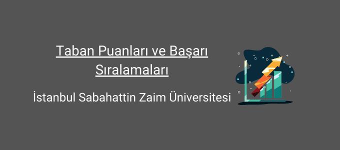 istanbul zaim üniversitesi taban puanları