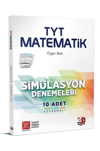 3d tyt matematik 10lu simulasyon denemeleri