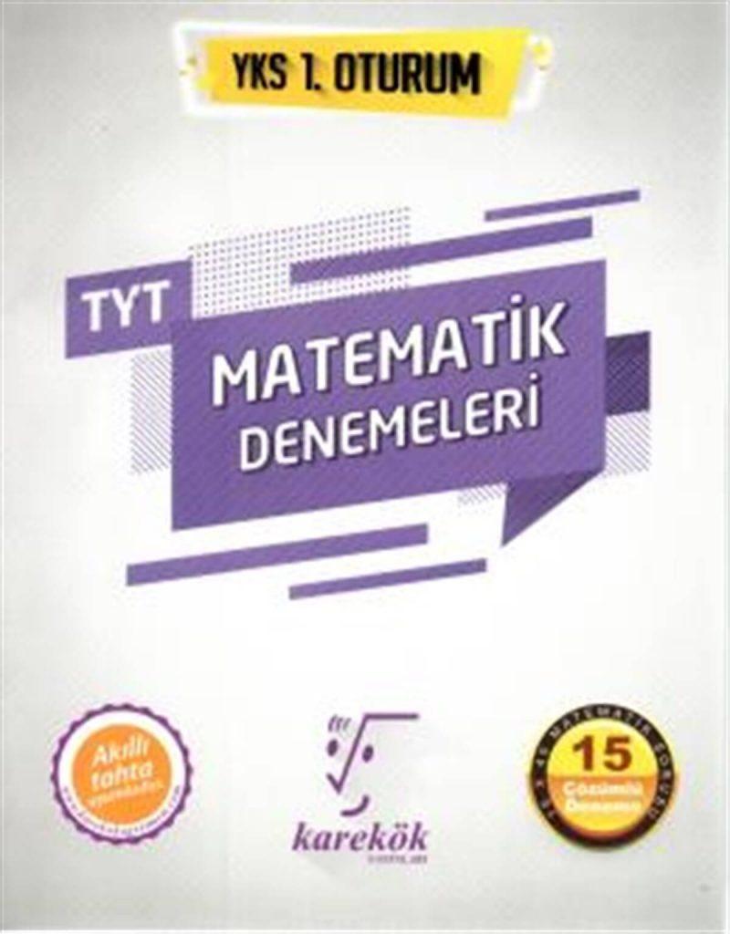 karekök 15li tyt matematik denemeleri
