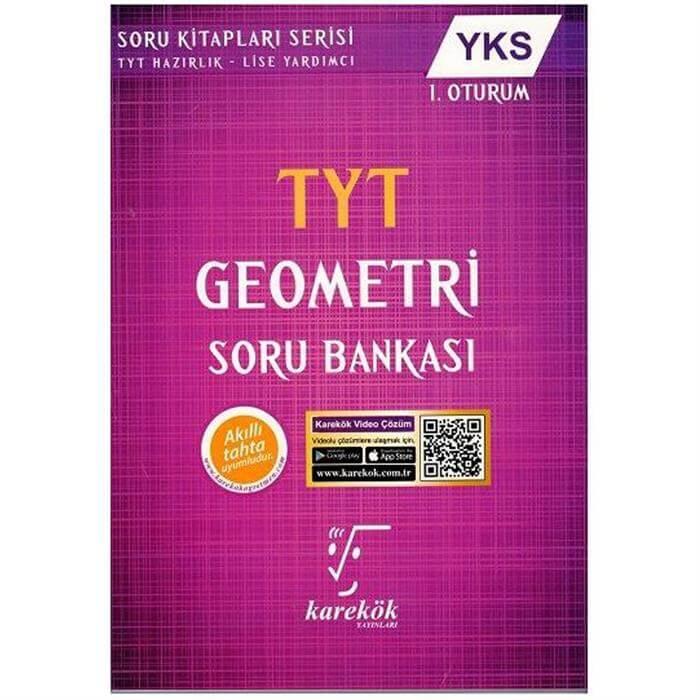 karekök yayınları tyt geometri soru bankası
