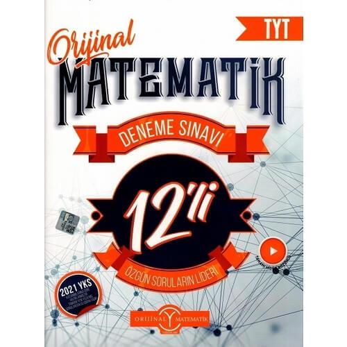orijinal 12li tyt matematik deneme sınavı