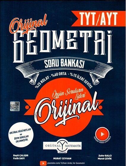 orijinal yayınları tyt ayt geometri soru bankası