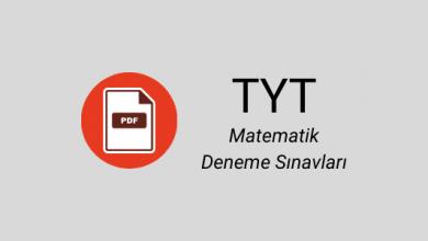 TYT matematik deneme pdf