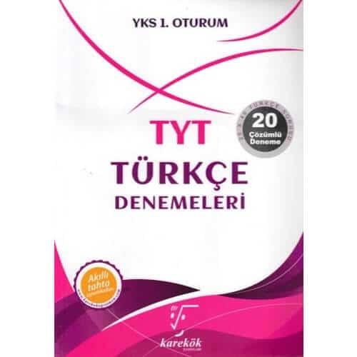 karekök yayınları YKS 1.oturum TYT Türkçe denemeleri