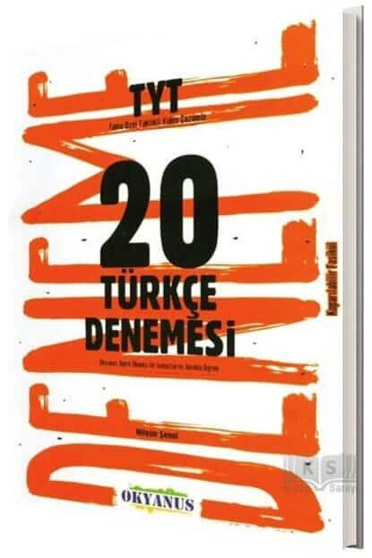 okyanus yayınları 20li TYT Türkçe denemesi