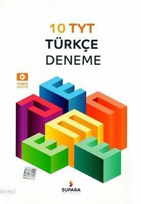 supara yayınları 10lu TYT Türkçe denemeleri