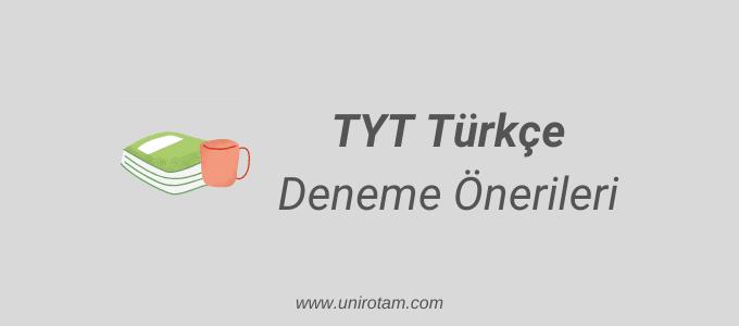 TYT Türkçe deneme önerileri