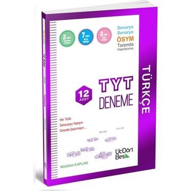 üçdörtbeş yayınları TYT Türkçe 12li deneme
