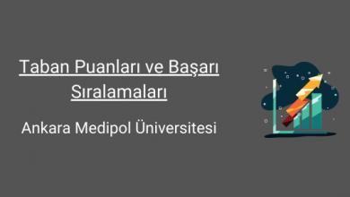ankara medipol üniversitesi taban puanları
