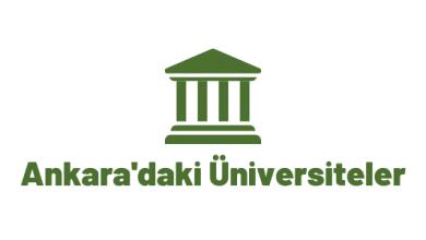 Ankara'daki üniversitelerin taban puanları