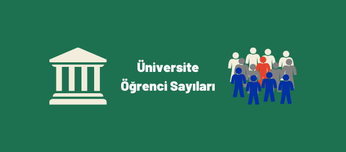üniversite öğrenci sayıları