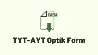 TYT-AYT optik form pdf